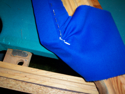 Refelting your pool table cushions and pockets - Refelting ...