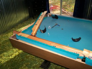 Removing Pool Table Cushions