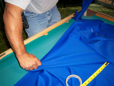 Cutting Pool Table Felt to Fit