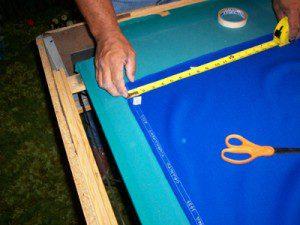 Slits - Cutting Pool Table Felt