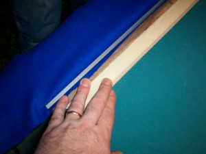 Recovering pool table cushions