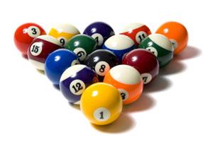 Game Regulation Pool Balls